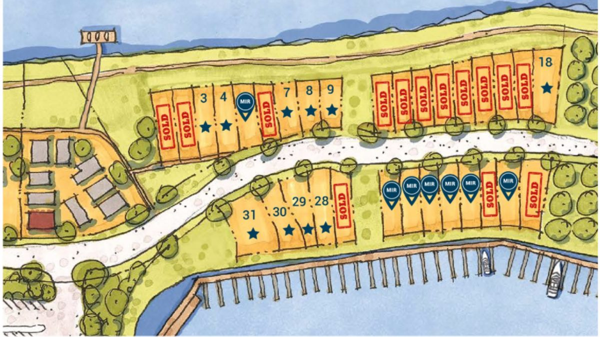 Heritage Harbor Hits New Record Sales of Waterfront Homes