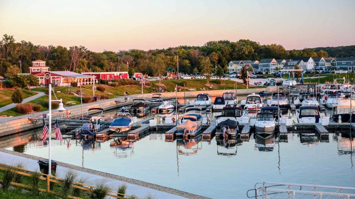 'Slip' Into the Harbor Life at Heritage Harbor